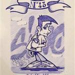 95 - B BOY BLEU